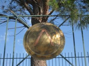 """Greek """"L"""" (lambda) for Leonidas, King of Sparta"""